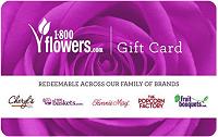 Amazon 1-800 Flowers.com eGift Cards