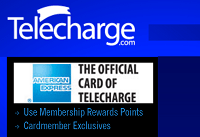 Amex Offers Telecharge.com $15 Statement Credit