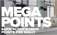 Club Carlson Mega Gold Points Bonus