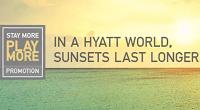Hyatt Gold Passport Stay More Play More Bonus Promotion