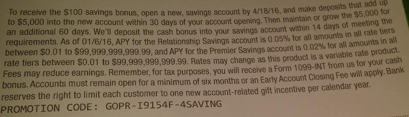 Huntington Bank Targeted Savings Review 100 Bonus In