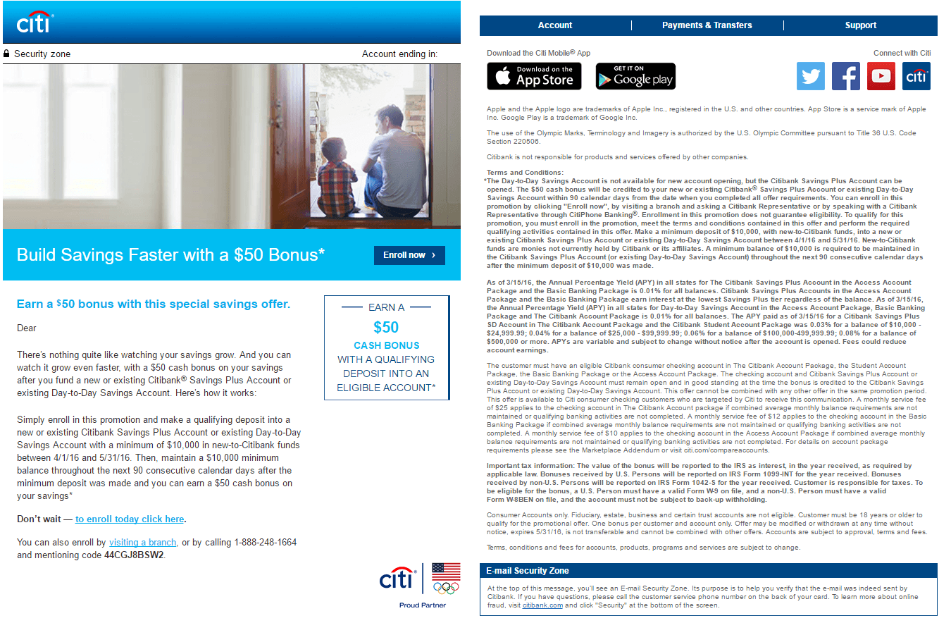 Citibank Promotions: $300, $400, $600, $1000 Bonuses for Checking ...