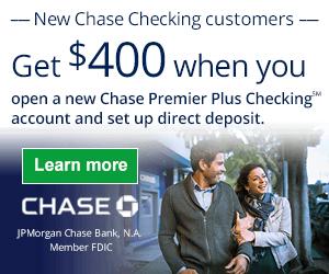 Chase Premier $400