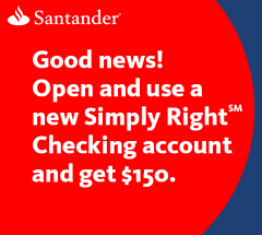 Santander Bank Checking Bonus