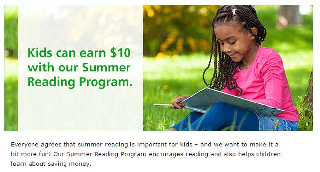 TD Summer Reading Program $10 Bonus