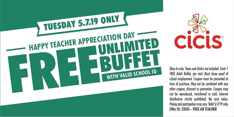 teachers eat free