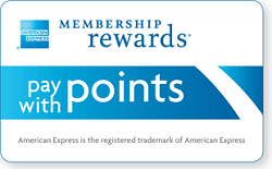 AMEX Pay With Points Logo A