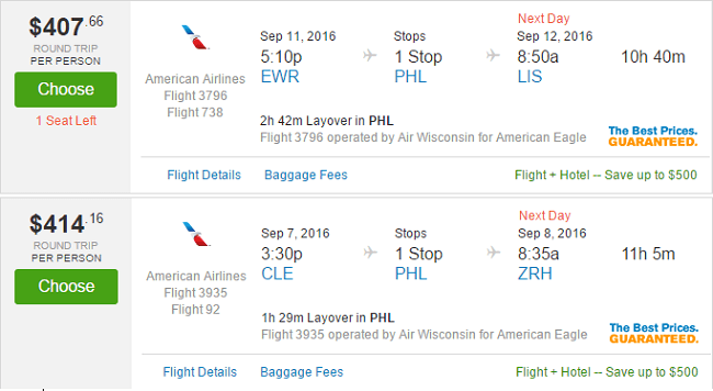 American Airlines Vs United Europe Low Fare War Round