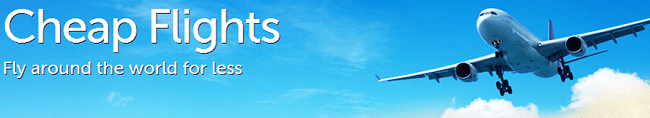 Cheap Flight Deals Promotion