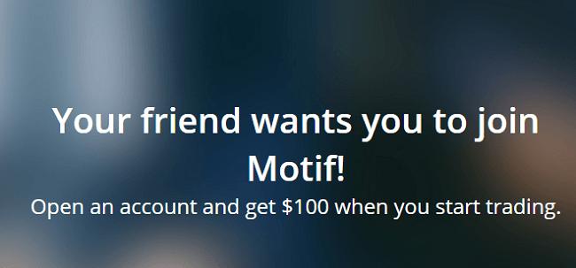 Motif $100 Referral Bonus