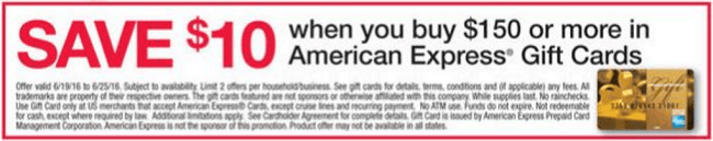 fice Depot and ficeMax Amex Promotion $10 f $150