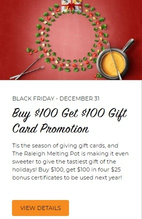Get $100 Bonus w/ $100 Gift Card Purchase