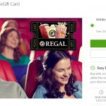Groupon Regal Promotion: $20 Regal Cinemas eGift Card for $10 (Targeted)