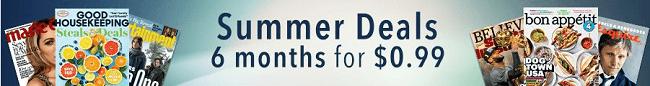 Amazon Summer Magazine Promo