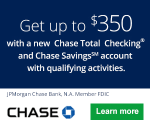 Chase Total Checking and Savings Account