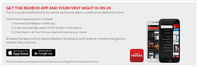 Redbox App DL