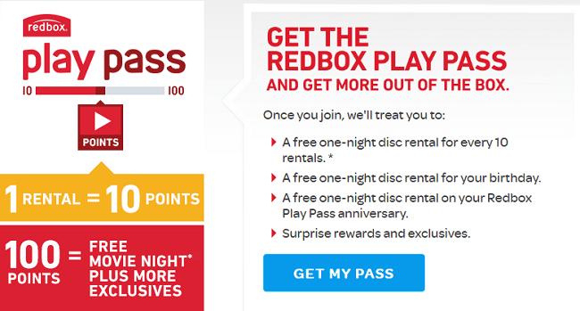 Redbox Play Pass