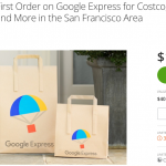 Groupon Google Express San Francisco Promotion: $7 for $40 Credit with Promo Code