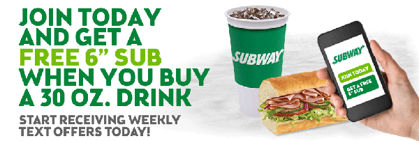 Subway Promotion
