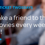 AT&T Ticket Twosday Promotion: Buy One Get One Free Movie Ticket