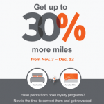 Aeroplan Hotel Bonus Points Transfer Promotion: Get Up To 30% More Miles