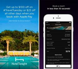 Apple Pay Hotel Tonight
