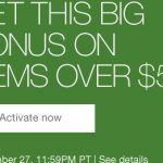 eBay Bucks Promotion: 10% Bonus Bucks