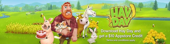 Hay Day Amazon Promotion