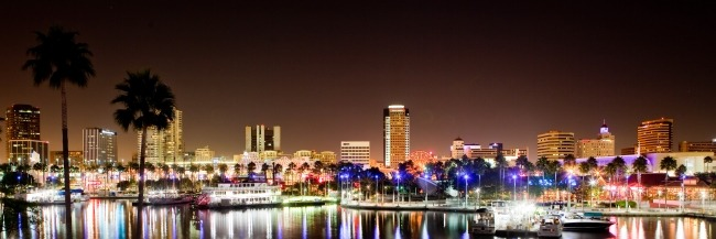 Downtown Long Beach - Long Exposure Photography