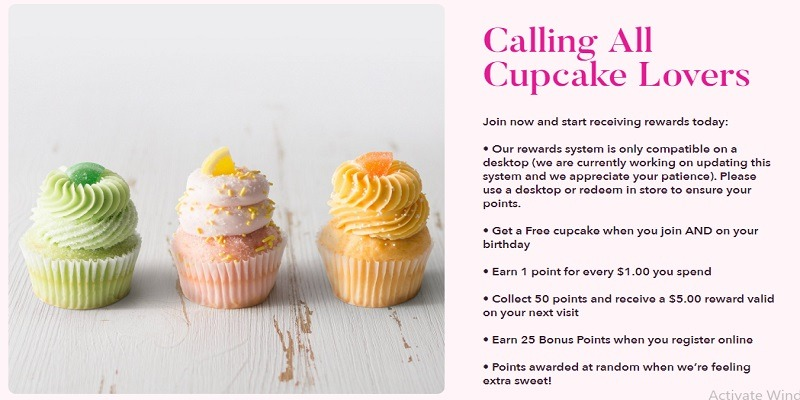 GiGi's Cupcakes Freebie Promotion