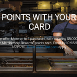 American Express Business Gold 5K Points Per $5K Purchases Promotion (Targeted)