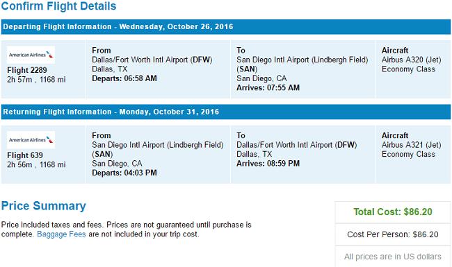 Flights to San Diego, CA : Best Fare Guarantee on Plane ...