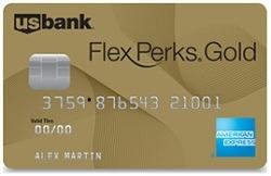 US Bank FlexPerks Gold American Express Card