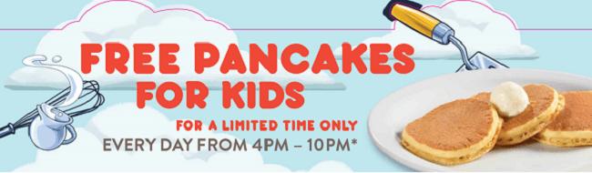 dennys-free-pancake