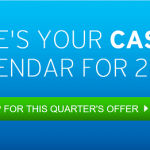 Chase, Citi, Discover, American Express Credit Cards 5% Cash Back Categories from our partners – Quarter I 2017