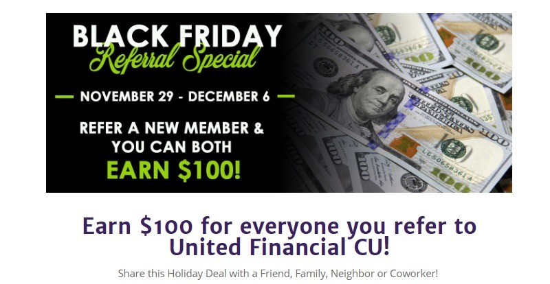 United Financial Credit Union Promotion