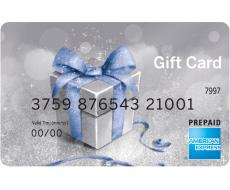 amex gift card silver bow - American Express Business Gift Card