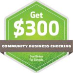 Huntington $300 Business Bonus – Community Checking Account