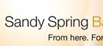 Sandy Spring Bank Checking Promotion: $150 Bonus (DC, MD, VA)
