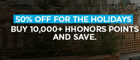 Discounted Hilton HHonors Points Promotion: Buy Hilton ...
