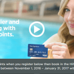 Hilton Offers 5K Points Visa Purchase Promotion