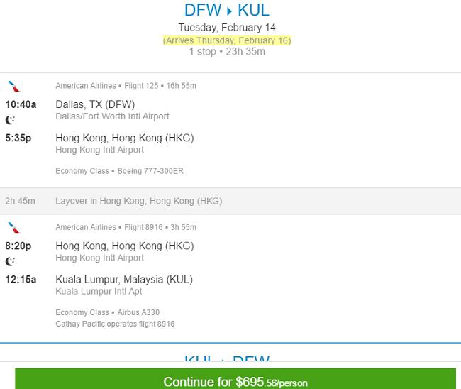 dfw-kul