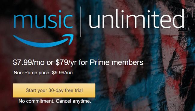 amazon prime music unlimited promo code