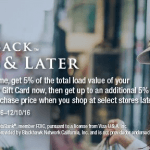 Gift Card Mall 5% Off Visa Gift Cards Promotion