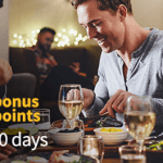Southwest Rapid Rewards Program Dining Review: 1,000 Bonus Points