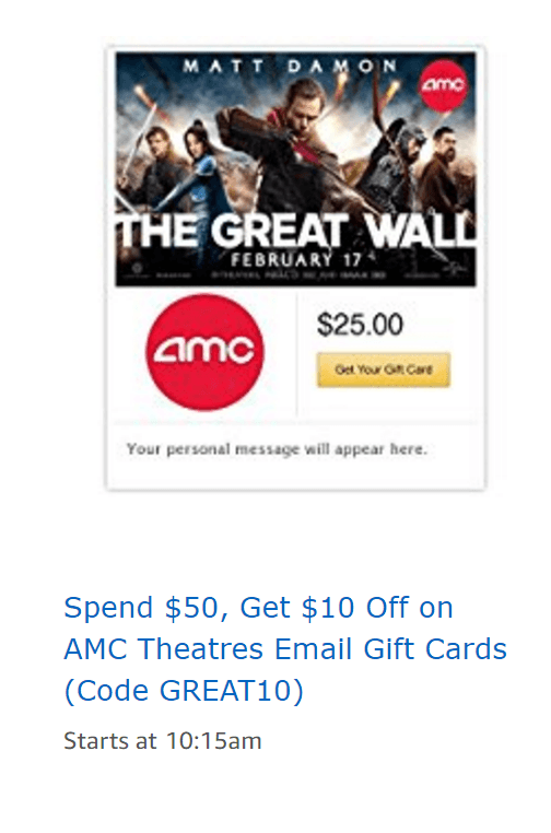Amc coupon codes