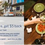 Amex Offer dineLA Restaurant Week Promotion: $5 Statement Credit For $21 Purchase