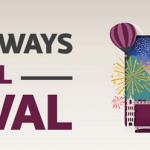 Qatar Airways Travel Festival 15% Visa Promotion