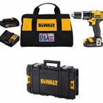 DeWalt 20V MAX Lithium Ion Compact 1.5 Ah Hammer Drill/Driver Kit via Amazon: $149.99 + Free Shipping