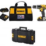 DeWalt 20V MAX Lithium Ion Compact 1.5 Ah Hammer Drill/Driver Kit via Amazon: $149.99 + Free Shipping
